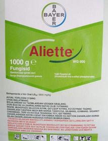 Альетт (Aliette) фосетил алюминия 800г/кг в оригинале , а так же имеется аналог.