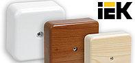 IEK GROUP представляет обновленные коробки монтажные для открытой установки IEK