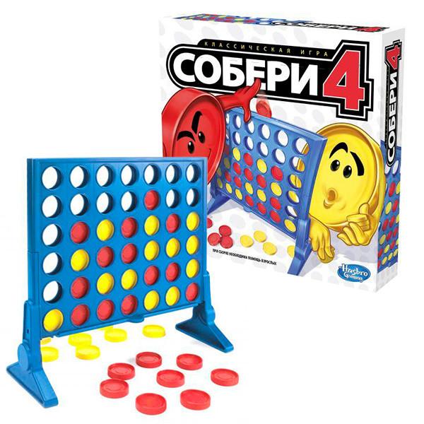 Настольная игра GAMES Собери 4