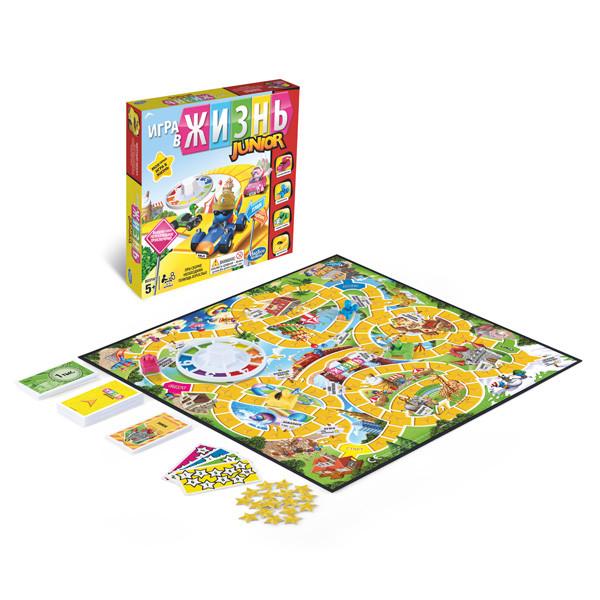 Настольная игра для детей Моя первая Игра в жизнь