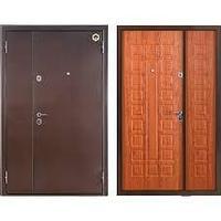 Входная металлическая  дверь  Бульдорс-24Д (двухстворчатая) (МДФ)