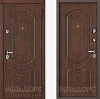 Входная металлическая  дверь  Бульдорс -25 дуб коньяк