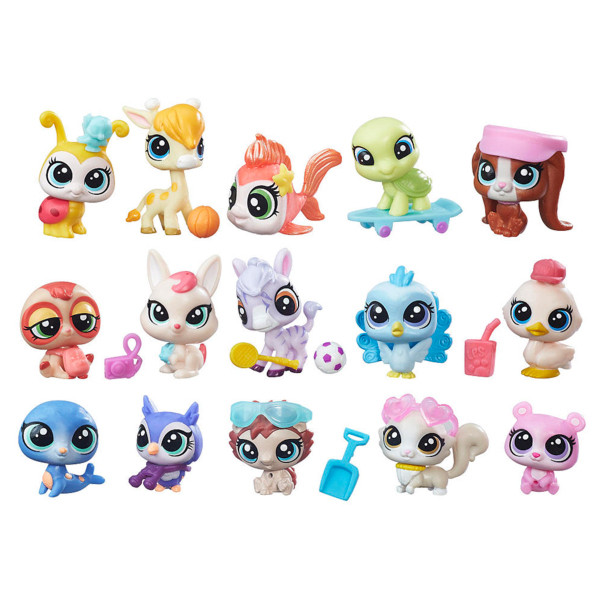 Игрушка Hasbro ЛПС (LPS) Набор зверюшек - малышей