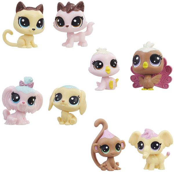 Набор игрушек Hasbro ЛПС (LPS) 2 ЗЕФИРНЫХ ПЕТА