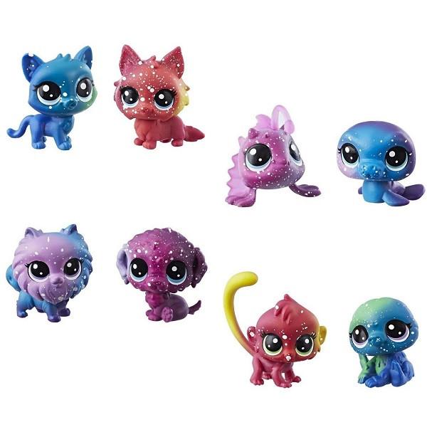 Набор игрушек Hasbro ЛПС (LPS) 2 космических ПЕТОВ