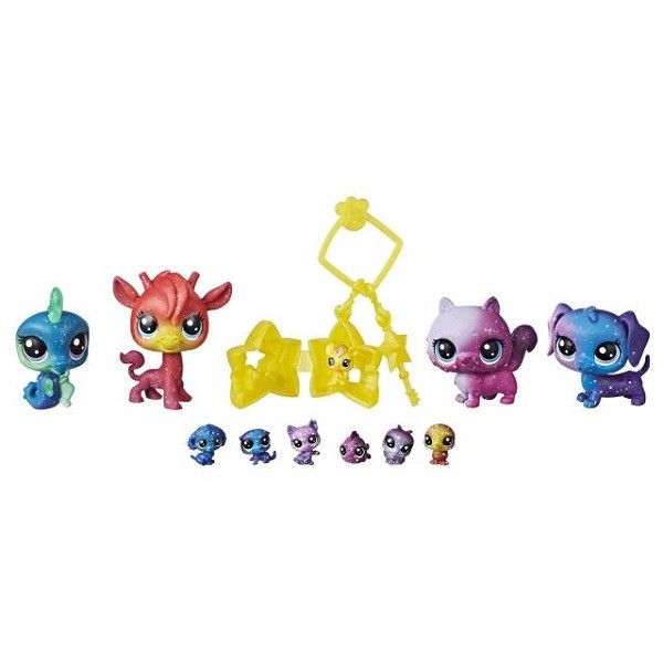 Набор игрушек Hasbro ЛПС (LPS) 11 космических ПЕТОВ