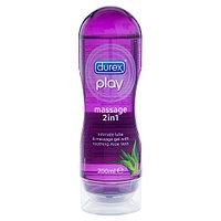 Durex play 2 в 1, гель - смазка интимная и массажная с экстрактом Алоэ вера