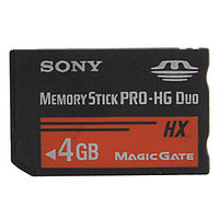 Карта памяти Sony Memory Stick Pro DUO 4GB