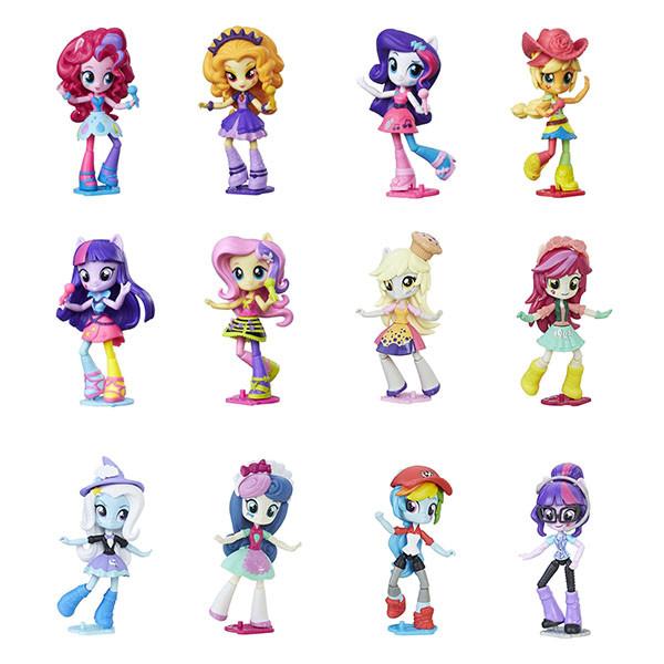 Игрушка Hasbro My Little Pony Equestria Girls (Девочки из Эквестрии) мини-кукла, в ассорт.