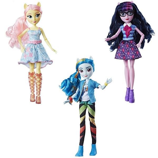 Игрушка Hasbro My Little Pony кукла Equestria Girls (Девочки из Эквестрии) куклы в асортименте