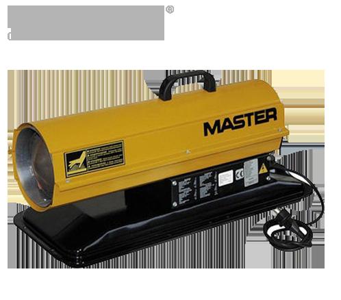 Дизельная тепловая пушка Master: B 70 CED - 400 м³/ч (с прямым нагревом)