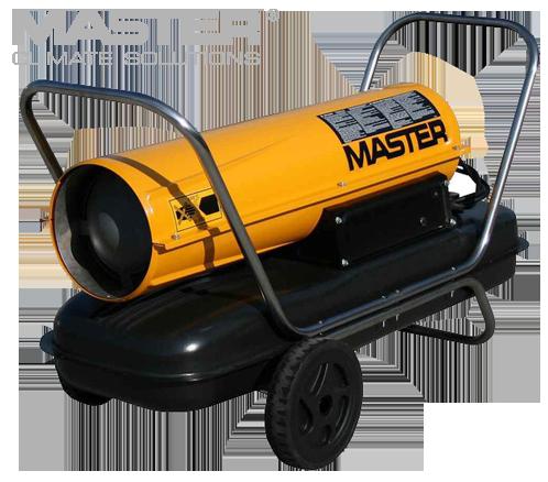 Дизельная тепловая пушка Master: B 100 CED - 800 м³/ч (с прямым нагревом)