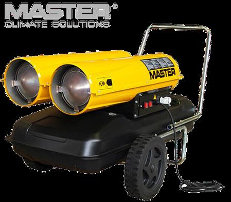 Дизельная тепловая пушка Master: B 300 CED - 1800 м³/ч (с прямым нагревом), фото 2