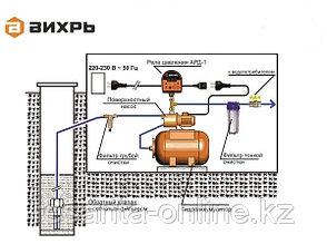 Автоматическое реле давления ВИХРЬ АРД-1 (Регулятор давления- датчик сухого хода), фото 2