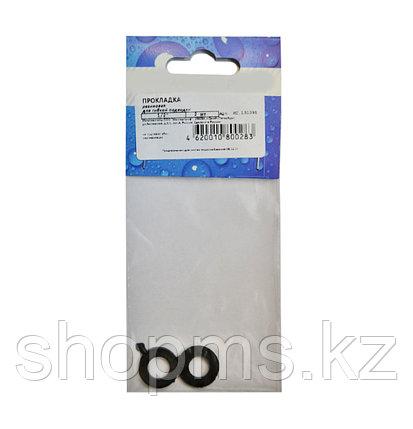 """Прокладки 1/2"""" резина (уп 2шт) для гибкой подводки МР, фото 2"""