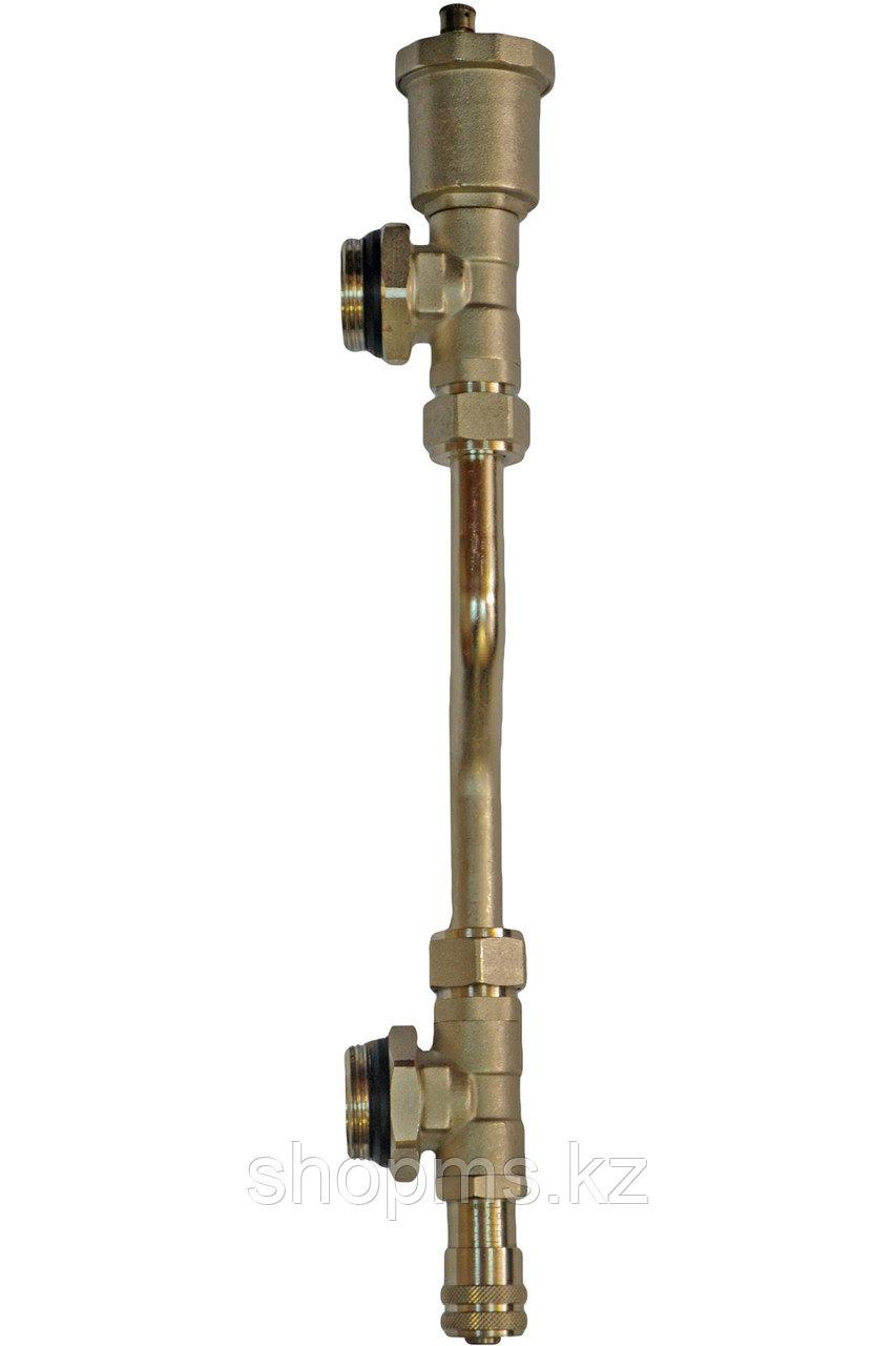 ТП Байпас тупиковый с перепускным клапаном и воздухоотводчиком RVC Pro