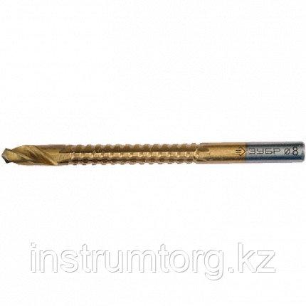 Сверло фрезеровальное по дереву, тонколистному металлу, ЗУБР Мастер 29965-10, d=10х110мм