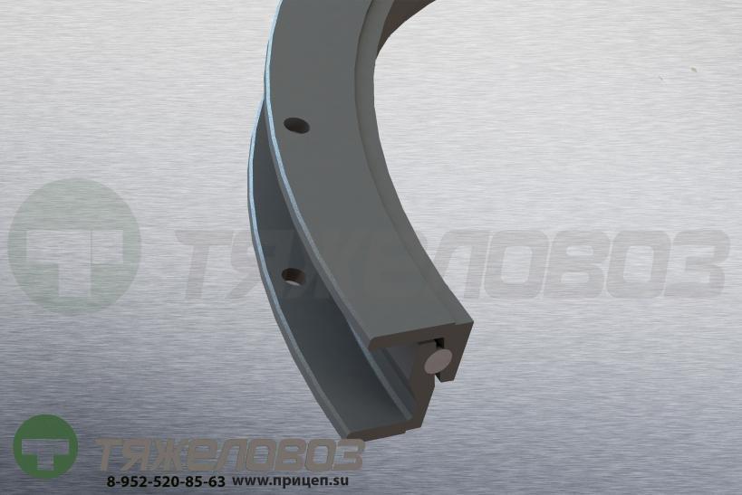 Поворотный круг DK 90/16-1100 для 3-осевого прицепа 71027