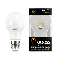 Лампа GAUSS LED A60-DIM E27