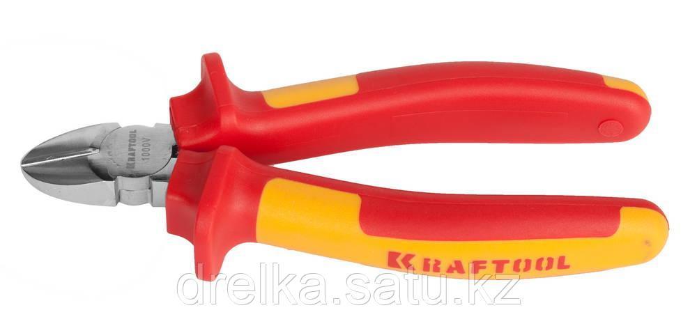 """Бокорезы """"ELECTRO-KRAFT"""", Cr-Mo сталь, двухкомпонентная маслобензостойкая рукоятка, хромированное покрытие"""