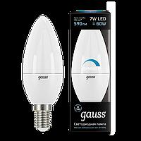 Лампа GAUSS LED CANDLE-DIM E14 7W 4100К