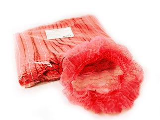 Шапочка шарлотта красная (100/1000) (1 упаковка - 100шт)
