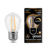 Лампа GAUSS LED FILAMENT GLOBE DIMMABLE E27  2700K