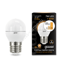 Лампа GAUSS LED GLOBE E27  2700K STEP DIMMABLE