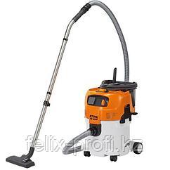Пылесосы для сухой и влажной уборки STIHL SE 62 1400 Вт, max давление-210 мбар, объем всасываемого воздуха-36
