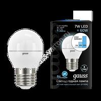 Лампа GAUSS LED GLOBE E27  4100K STEP DIMMABLE