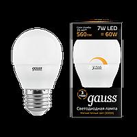 Лампа GAUSS LED GLOBE-DIME E27  3000 К