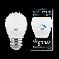 Лампа GAUSS LED GLOBE-DIME E27  4100 К