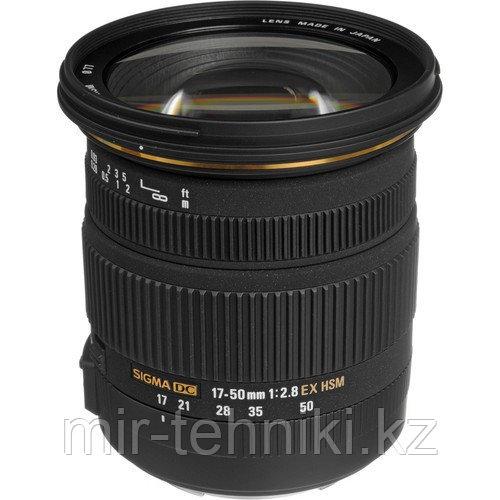 Объектив Sigma 17-50mm f/2.8 EX DC OS HSM for Nikon