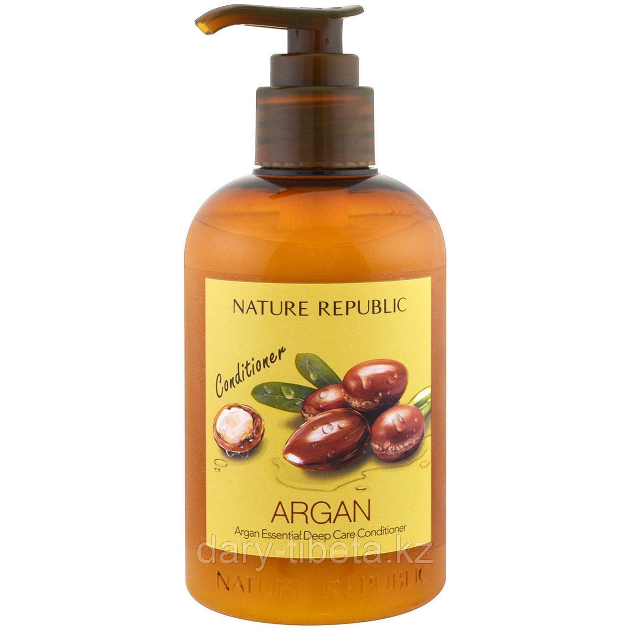 Nature Republic, Argan Essential Deep Care Conditioner- Восстанавливающий кондиционер