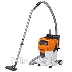 Пылесосы для сухой и влажной уборки SE 122 STIHL 1500 Вт, max давление-250 мбар, объем всасываем. воздуха-3700
