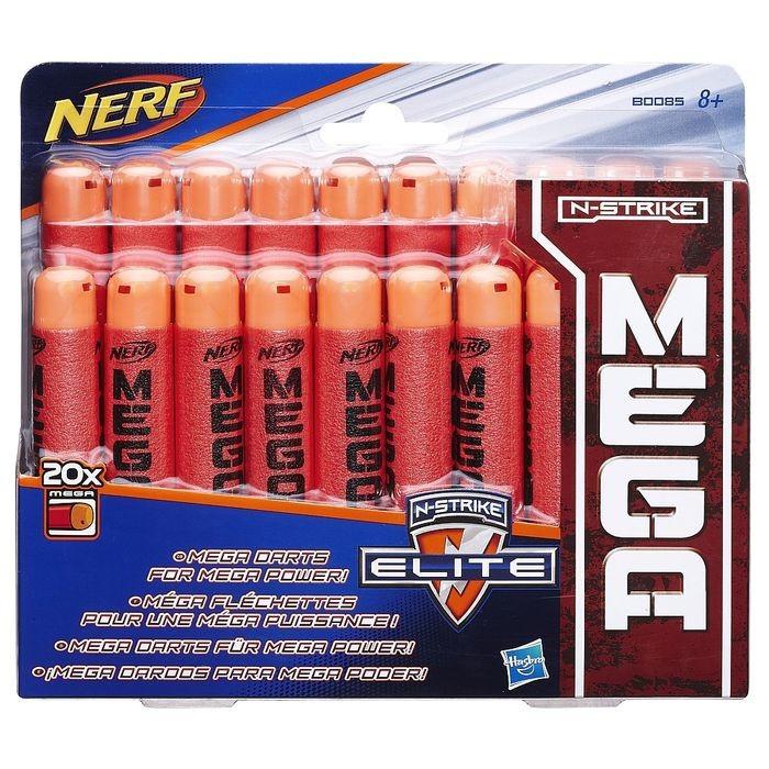 Игрушка Hasbro NERF (НЁРФ) МЕГА 20 стрел
