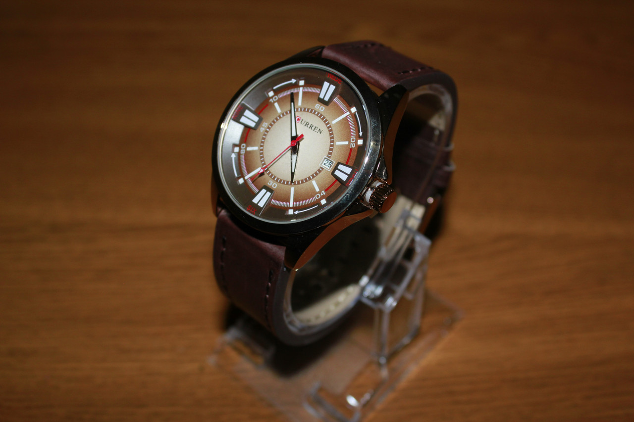 Кварцевые Наручные Часы Curren 8155. Рассрочка. Kaspi RED.