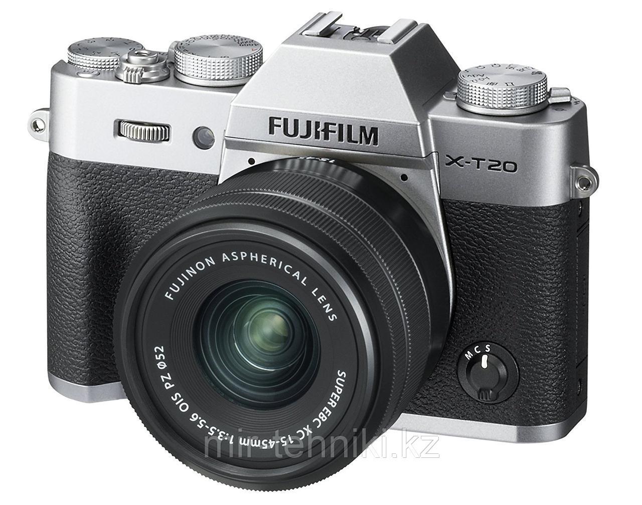 Fujifilm X-T20 kit XC 15-45mm F3.5-5.6 OIS PZ Silver