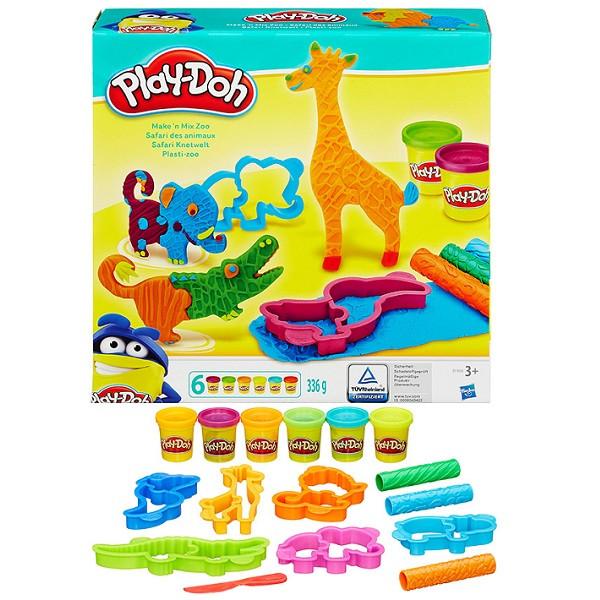 Игрушка Hasbro Play-Doh (Плей-До) Игровой набор Весёлые сафари
