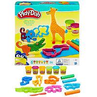 Игрушка Hasbro Play-Doh (Плей-До) Игровой набор Весёлые сафари, фото 1