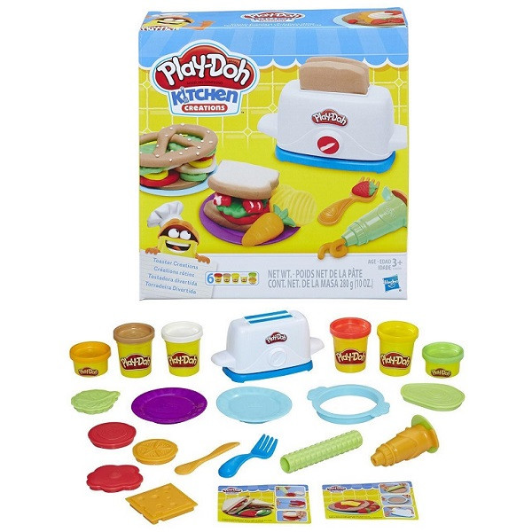 """Игрушка Hasbro Play-Doh (Плей-До) Игровой набор """"Тостер"""""""