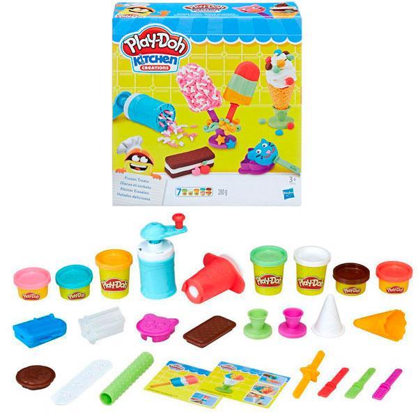 """Игрушка Hasbro Play-Doh (Плей-До) Игровой набор """"Создай любимое мороженое"""""""