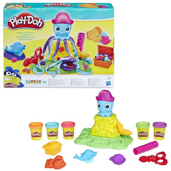 """Игрушка Hasbro Play-Doh (Плей-До) Игровой набор """"Веселый Осьминог"""""""