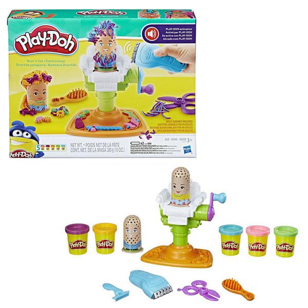 """Игрушка Hasbro Play-Doh (Плей-До) Игровой набор""""Сумасшедший Парикмахер"""""""
