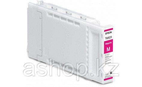 Картридж Epson C13T692300 (№T6923), Объем: 110 мл, Цвет: Пурпурный, Совместимость: SureColor SC-T3000, SC-T320
