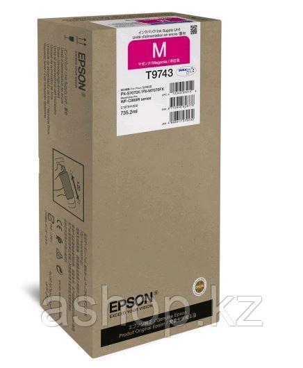 Картридж Epson C13T974300 (№T9742XXL), Объем: 735,2 мл, Копий ( ISO 19752): 84000, Цвет: Пурпурный, Совместимо