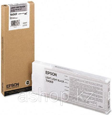 Картридж Epson C13T606900 (№T6069), Объем: 220 мл, Цвет: Светло-серый, Совместимость: Stylus Pro 4800, 4880