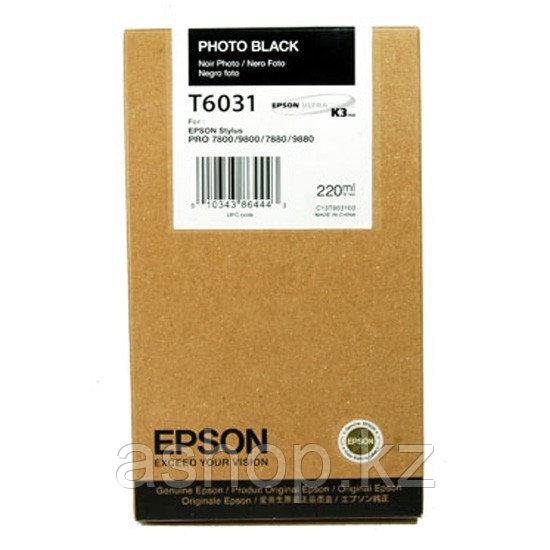 Картридж Epson C13T614800 (№T6148), Объем: 220 мл, Цвет: Чёрный матовый, Совместимость: Stylus Pro 4400, 4450