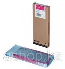 Картридж Epson C13T614300 (№T6143), Объем: 220 мл, Цвет: Пурпурный, Совместимость: Stylus Pro 4400, 4450
