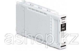 Картридж Epson C13T692100 (№T6921), Объем: 110 мл, Цвет: фото чёрный, Совместимость: SureColor SC-T3000, SC-T3